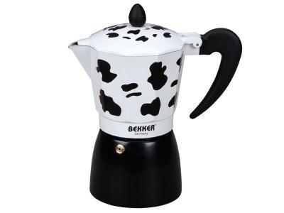 Кофеварка гейзерная 450мл Коровка Bekker