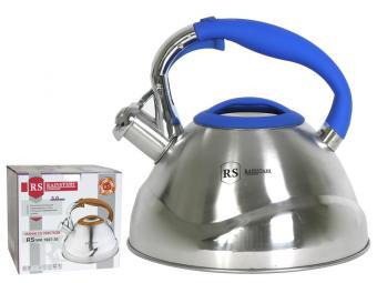 Чайник 3л нерж со свистком Rainstahl 7607-30