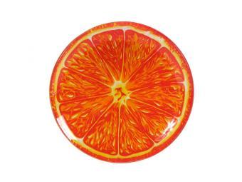 Тарелка декоративная Апельсин 15см