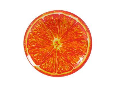 Тарелка декоративная Апельсин 15см Torix