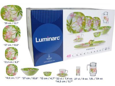 CARINA FREESIA Столовый сервиз 46пр Luminarc