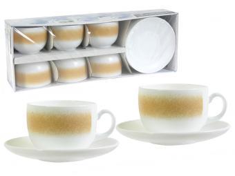 TREM PACO BIEGE ESSE Чайный сервиз 220 мл 41605