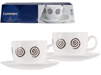 ESSENCE SIROCCO BROWN Чайный набор 2пр 220мл (65065)