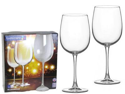 Allegresse Набор фужеров для вина 2шт 550мл Luminarc