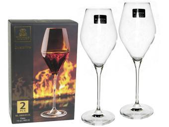 Набор бокалов 2шт 420мл для вина WILMAX