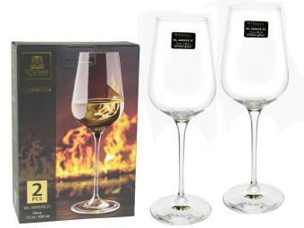 Набор бокалов 2шт 430мл для вина WILMAX