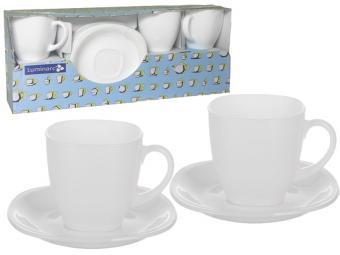 CARINE WHITE Чайный сервиз 220мл (92085)