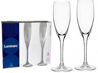 Signature Набор фужеров для шампанского 170мл 3шт (01729)