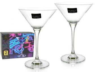 Набор бокалов 2шт 290мл для мартини WILMAX