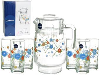 COUNTRY Набор Кувшин и 6 стаканов (30091)