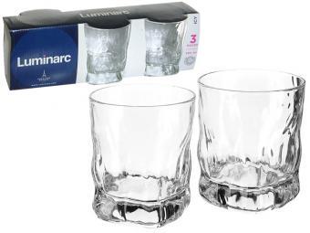 Набор стаканов 3шт 300мл ICY низкие