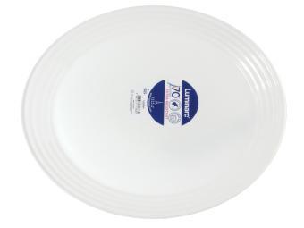 Блюдо овальное 33см HARENA WHITE