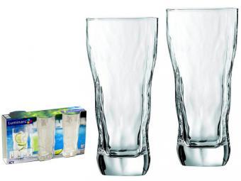 Набор стаканов 3шт 400мл ICY высокие Айси