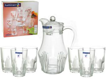 Набор кувшин и 6 стаканов ORIENT 7 пр (23350)