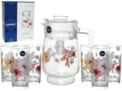 FLORENTINA Кувшин и 6 стаканов (69919) Luminarc