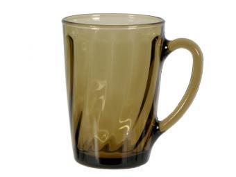 Кружка Elipa темное стекло 300мл