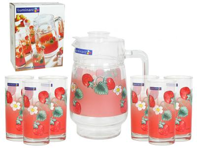 FRUITISIMMO STAWBERRY Набор 7пр Luminarc