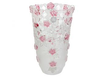 Carmen Ваза для цветов 24см розовая