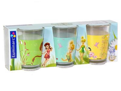 Набор стаканов 3шт 160мл Fairies buterfly Феи Luminarc