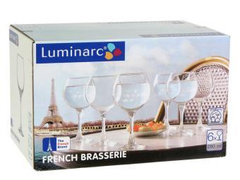French Brasserie Набор фужеров для вина 6шт 280мл