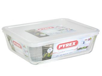 Форма стеклянная жаропрочная Pyrex 35*23*5см 2,6л