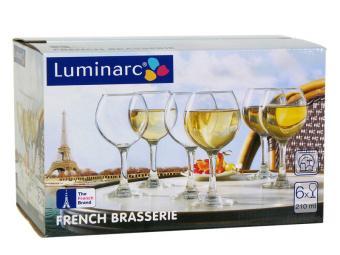 French Brasserie Набор фужеров для вина 6шт 210мл