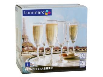 French Brasserie Набор фужеров для шампанского 6шт