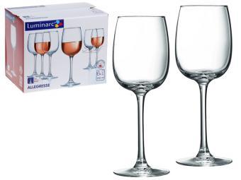 Набор фужеров для вина 6шт Allegresse 230мл