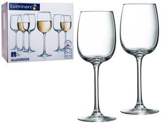 Allegresse Набор фужеров для вина 6шт 300мл