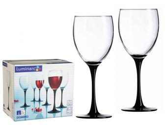 DOMINO набор фужеров для вина 6шт 250мл (01071)