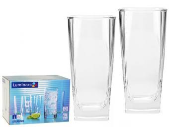 STERLING стаканы высокие 330мл 6шт