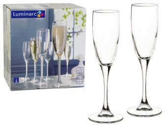 SIGNATURE набор фужеров для шампанского 6шт 170 мл