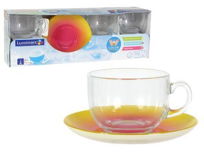 Fizz lemon чайный набор чашка 220мл Luminarc