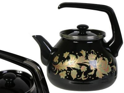 Чайник 3л Винтаж эмалированый Interos 2982