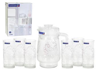 Ceara Набор Графин 1,6л и 6 стаканов