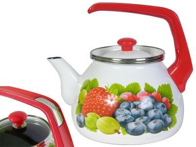Чайник 3л Фреш эмалированый Interos