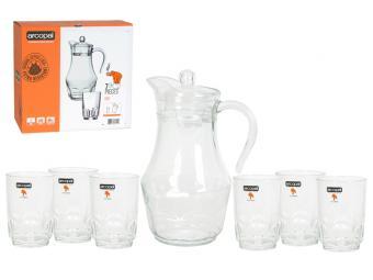 ARCOPAL ROC набор Кувшин и 6 стаканов