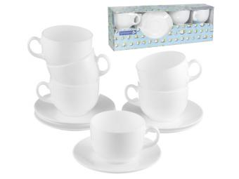 EVOLUTION PEPS чайный сервиз 12пр 220мл 6 персон