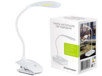 Светильник настольный светодиодный с эргономичным гибким регулируемым держателем DL320LED