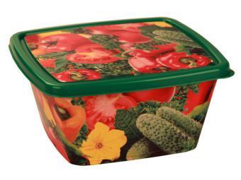Емкость для СВЧ Овощное ассорти 1,2л