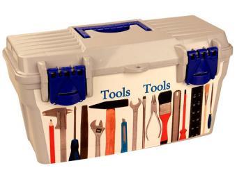 Ящик для инструментов ''100 мелочей''(41,5*21*21)