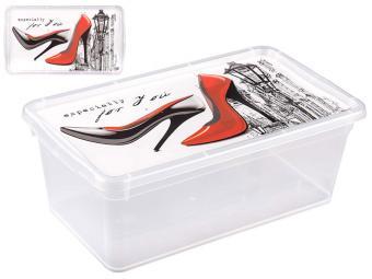 Контейнер для женской обуви 33*19*12см