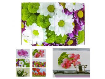 Защитная пленка-стикер Цветы 75*45см