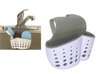 Подставка для щетки и губки навесная на кран