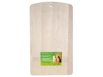 Доска разделочная деревянная 19*31см