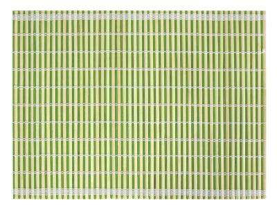Салфетка бамбук зеленая полоска 40*30см