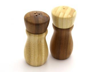 Набор для специй 2пр бамбук 4,7*10,2см №2