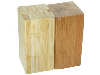 Набор для специй 2пр бамбук 9*5*9см №3