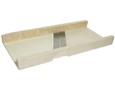Доска-шинковка деревянная большая, 2 ножа 93880