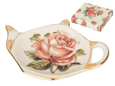 Подставка для чайного пакетика Корейская роза Арти-М